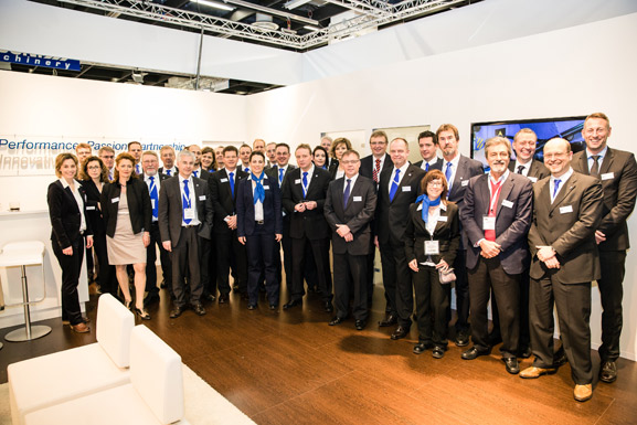 International HF-Team at TireTechnology-Expo 2014