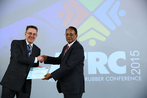 HF joins the Asian Tyre & Rubber Conference, Chennai, India (June 12-13, 2015)